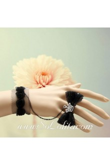 Imperial Crown Butterfly Lace Personality Lolita Bracelet