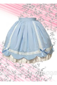 Skyblue Sweet Multilayers Lolita Skirt