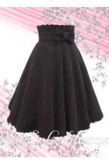 Bow Simple Fashion Elegance Lolita Skirt