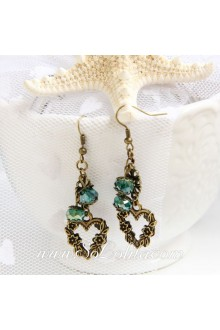 Lolita Crystal Retro Handmade Fashion Pop Earring