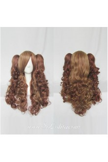 Lolita Wig Curl Sweet Brown Medium