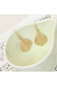 Lolita Golden Leaves Palace Pop Retro Earring