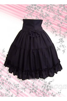 Bow Ruffle Flounce Fashion Lolita Skirt
