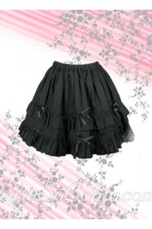 Sweet Multi-Layer Bow Mini Lolita Skirt