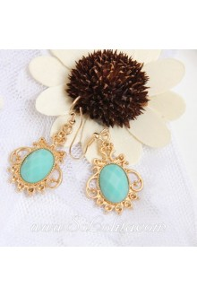 Lolita Pop Fashion Sapphire Palace Earring