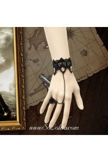 Gothic Black Lace Vintage Simple Fashion Lolita Bracelet